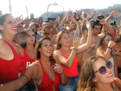 Party Boat in Mojácar, Open Bar w. Sangria + Beer