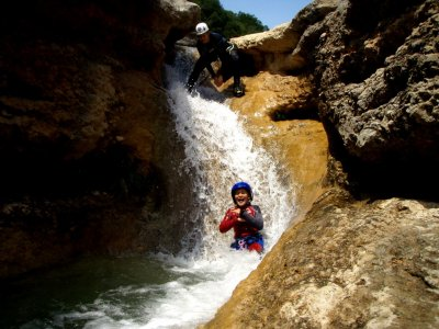 Canyoning for families Huesca 3h, CHILDREN