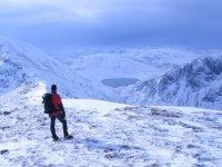 On the snowy peaks