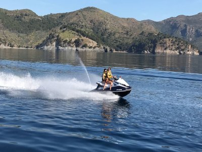 Jet Ski & Banana Boat Pack in Roses, 30m