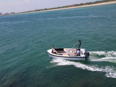 Jet Ski and Boat Trip in the Roses 1,5h