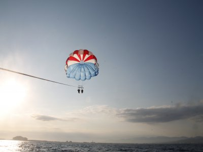 Parasailing & Speed Boat Pack in Roses 40m