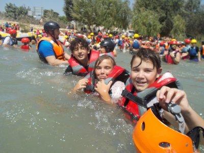 Rafting Through Segura River, 14km, KIDS
