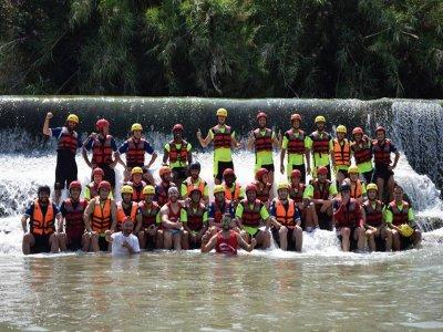 Rafting Bachelor Parties Through Segura River