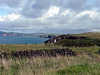 Pembrokeshire has over 186 miles of costal path