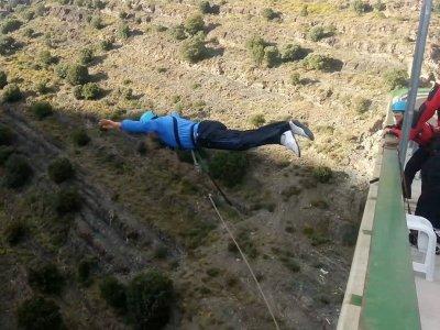 196 ft. 2 Bungee Jumps in Enciso, La Rioja