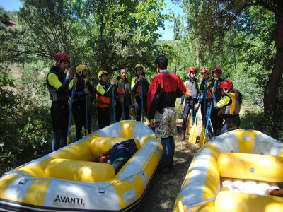 L. III Rafting in Iregua for Families, Adults