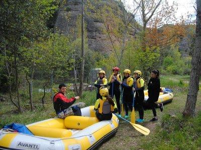 Rafting in Las Presas, Iregua River, KIDS FEE