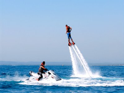 Flyboard Session in Barcelona, 15 Minutes