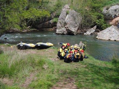Rafting w. Family in Cidacos - KIDS FEE