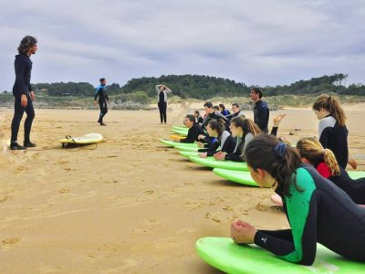 Surfing Course in Loredo Spots, 7 Days - 14h