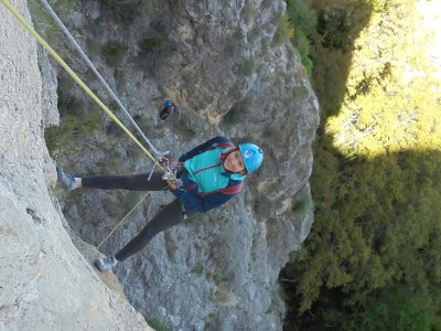 Descent of the Soler ravine initiation level