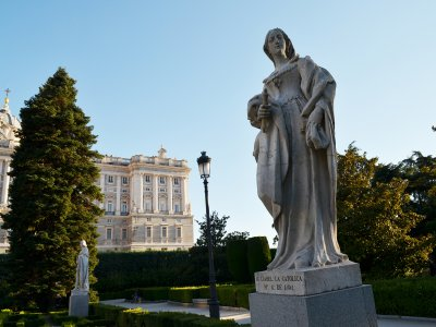 Guided visit to Madrid of the Women