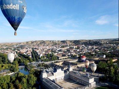 Balloon Ride in Zaragoza, Cave, Pics & HD Video