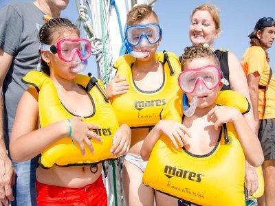 Catamaran tour in Costa Blanca kids 3 hours