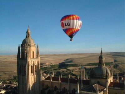 Private Family Balloon Ride in Segovia