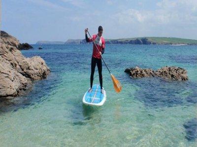Harlyn Surf School Paddleboarding