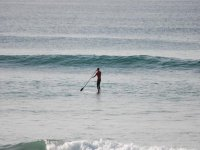 Paddleboarding is a great activity.