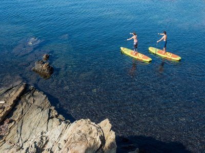Paddle Surf Class beginners for 2 Denia 1,5h
