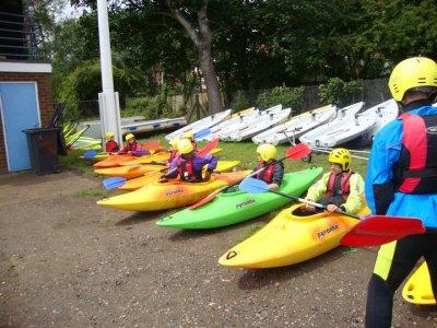 Edgbaston Watersports Kayaking