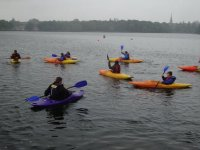 Group kayaking sessions