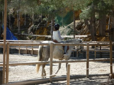 Horseback Riding Initiation Class in El Valle