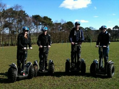 Segway Off Road Obstacle Course Rushton Spencer