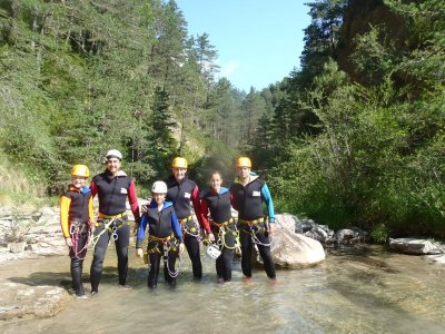 Level 2 Canyoning in Tena Pyrenees Valley