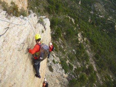 Via Ferrata de Xorret de Catí 3 hours level K2