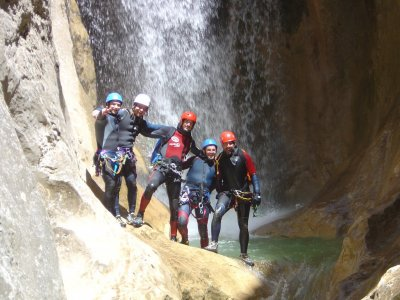 Easy-Level Canyoning in the Sierra of Guara