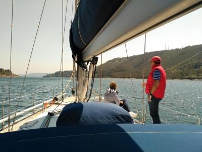 Stay the Night in a Sailboat from Marina de Sada