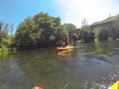 3h Kayak Trip in El Bierzo, river Sil