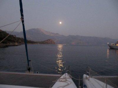 Private Night Boat Tour in Marina Sada, 5h