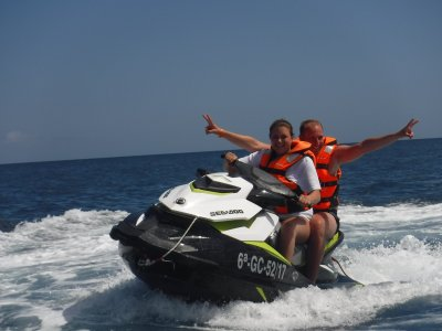 Jet Ski in Morro Jable Parasailing & CrazyUFO