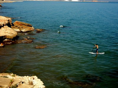 SUP route and mussels tasting in La Rápita