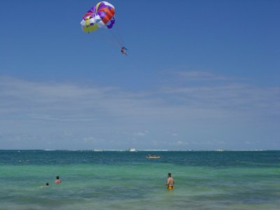 Parasailing in the Sitges Coast, 15 Minutes