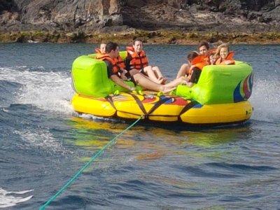 Inflatable Sofa Trip Through Sitges Coast, 15m