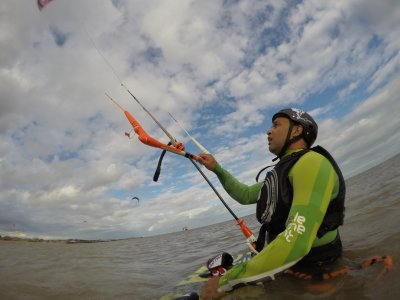 One-to-One Refresher Kitesurfing Lesson Essex