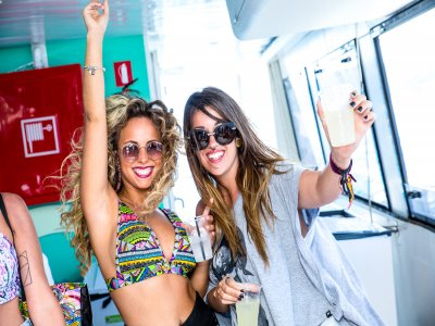 Party Boat in Ibiza, Pre-Party & Open Bar