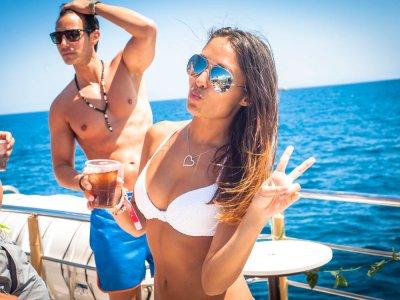 Ibiza's Boat Party Open Bar & Trip to Formentera