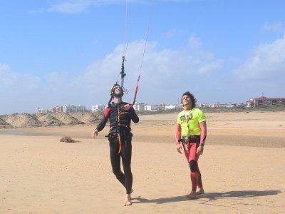 9h Kitesurfing Course in Isla Cristina, H. Season
