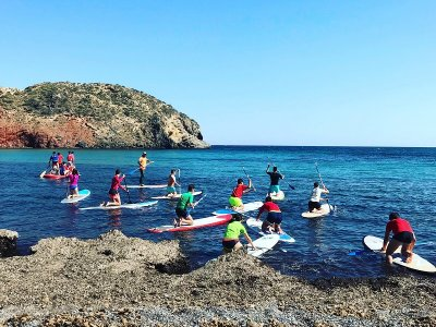 Paddle Surf Trip to Punta Vela Cove, 3 km