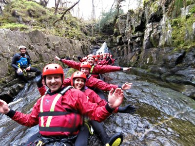 The National White Water Centre Canyoning