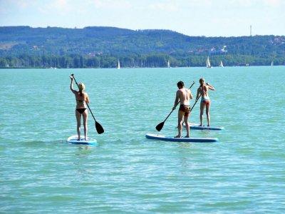 2h Paddle Surf Route, Cristina Island to La Lonja