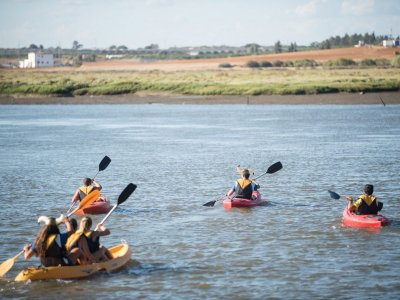 1h Kayak Route Through Isla Cristina Marshlands