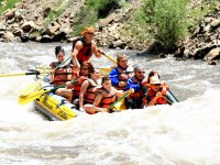 Rafting with the instructor