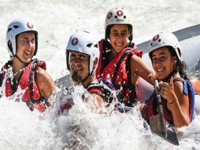 Rafting w. Children in Murillo de Gallego, 1 Day