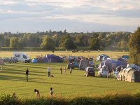 Campsite, Holiday lodge and café on site