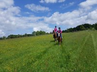 Hacking with Fairboroughs Horse Riding Holidays