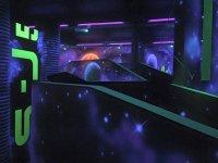 The playground at Laser Quest Preston